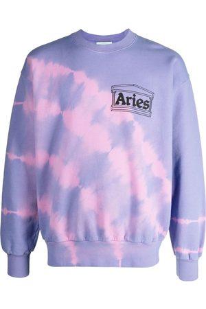 ARIES Suéter con estampado tie-dye