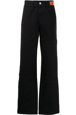 Heron Preston Hombre Rectos - Jeans rectos con parche del logo