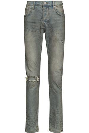 Purple Brand Hombre Skinny - Jeans con efecto desgastado