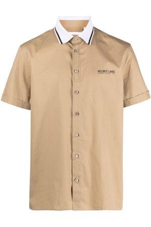 Helmut Lang Hombre Camisas - Camisa con logo estampado