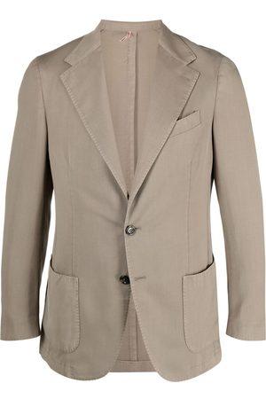 Dell'oglio Hombre Sacos - Blazer ajustado con botones