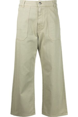 Fay Mujer Jeans - Jeans capri anchos