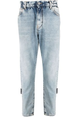 OFF-WHITE Jeans slim con cinturón
