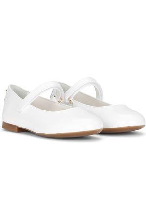 Dolce & Gabbana Niña Flats - Flats con puntera redonda