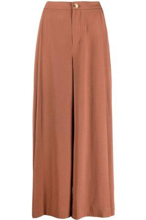 Vince Mujer Anchos y de harem - Pantalones anchos acampanados