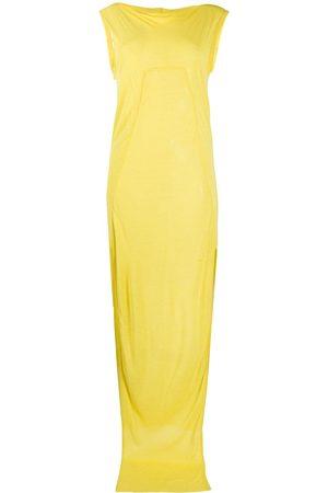 Rick Owens Mujer Maxi - Vestido largo con aberturas laterales
