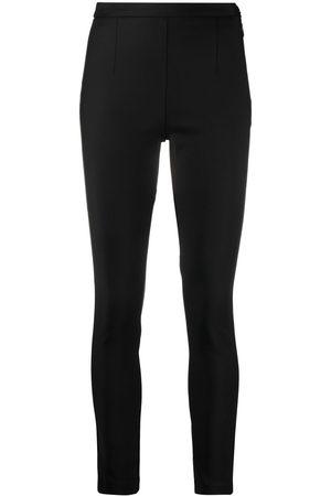Patrizia Pepe Mujer Slim y skinny - Pantalones con lazo lateral