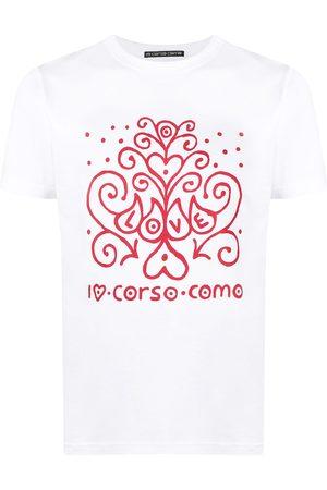 10 CORSO COMO Playera con logo estampado