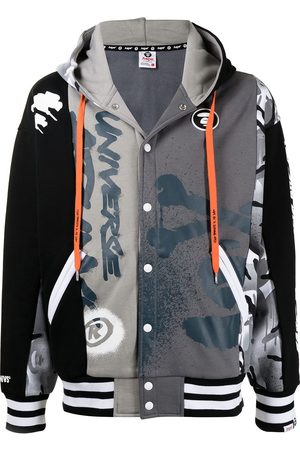 AAPE BY *A BATHING APE® Hombre Con capucha - Hoodie con logo estampado