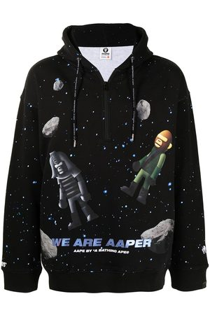 AAPE BY *A BATHING APE® Hoodie con estampado espacial