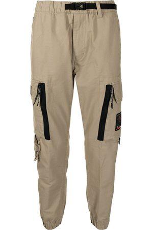 AAPE BY *A BATHING APE® Pantalones cargo con parche del logo