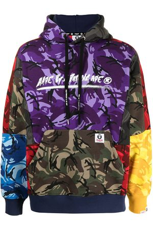AAPE BY *A BATHING APE® Hoodie con estampado militar