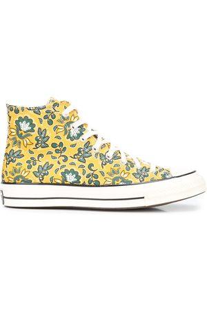 Converse Tenis altos con estampado floral