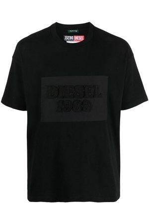 Diesel Playera con parche del logo