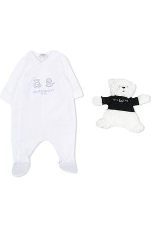 Givenchy Pijamas - Pijama con bordado de animales