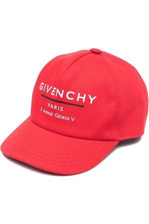 Givenchy Kids Niño Gorras - Gorra con logo estampado