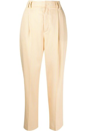PT01 Mujer Capri o pesqueros - Pantalones capri a rayas