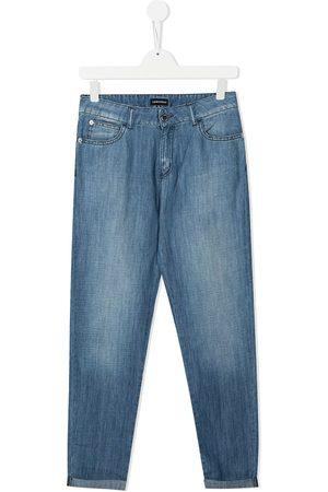 Emporio Armani Niña Jeans - Jeans con efecto degradado