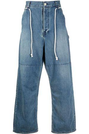 AMBUSH Hombre Jeans - DRAWSTRING OVERSIZED JEANS BLUE NO COLOR