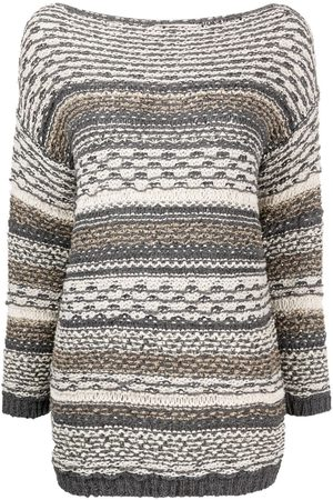GENTRYPORTOFINO Mujer Suéteres - Suéter con cuello barco