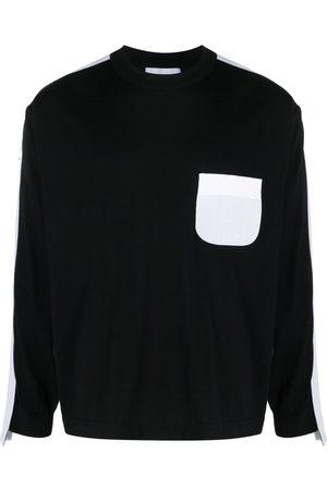 AMBUSH Hombre Suéteres - TAPED KNIT SWEATER BLACK BLACK