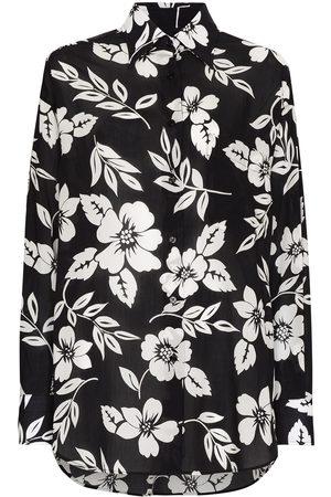 TOM FORD Mujer Camisas - Camisa con estampado floral