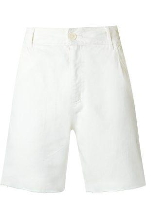 AMIR SLAMA Hombre Bermudas - Shorts con dobladillo sin acabado
