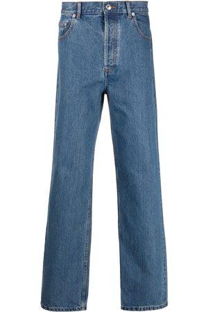 A.P.C. Jeans rectos con tiro alto