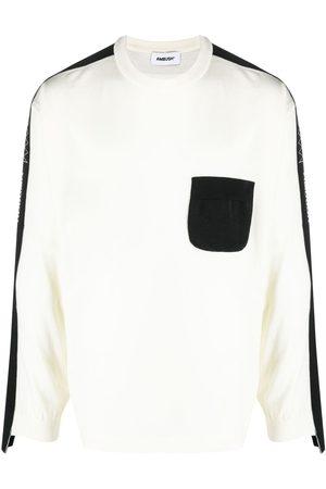 AMBUSH Suéter de tejido fino con paneles