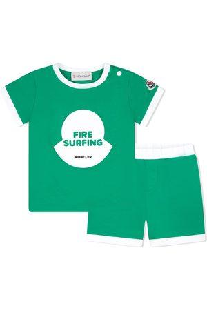 Moncler Traje deportivo con motivo Fire Surfing