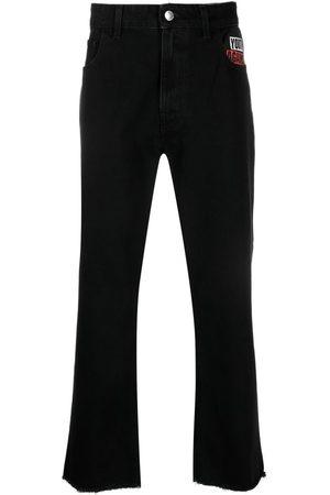 Raf Simons Hombre Jeans - Jeans con eslogan estampado