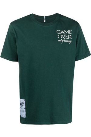McQ Playera con estampado Game Over