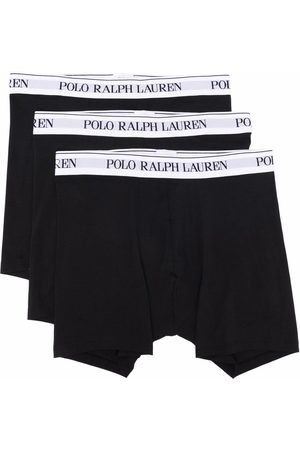 Polo Ralph Lauren Pack de bóxeres con logo en la pretina