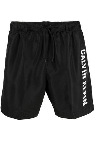 Calvin Klein Shorts de playa con logo estampado