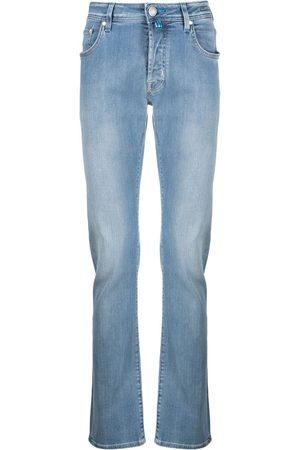 Jacob Cohen Hombre Skinny - Jeans slim con efecto desgradado