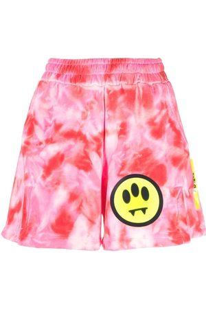 BARROW Shorts con estampado tie-dye