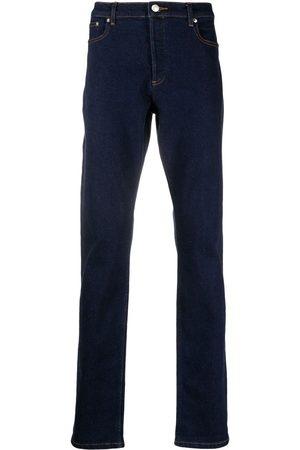 A.P.C. Jeans rectos con efecto lavado