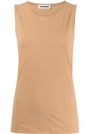 Jil Sander Camiseta con cuello redondo