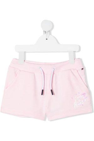 Tommy Hilfiger Niña Shorts - Shorts deportivos con logo