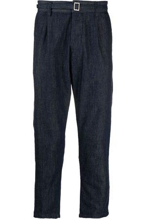 haikure Pantalones de mezclilla con pinzas