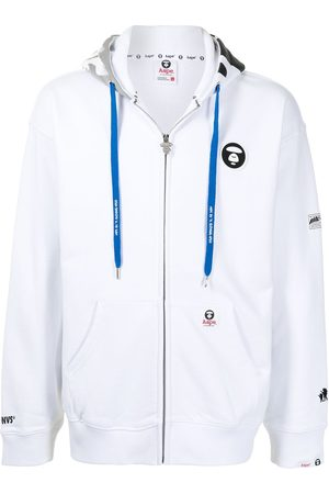 AAPE BY A BATHING APE Hoodie con parche del logo