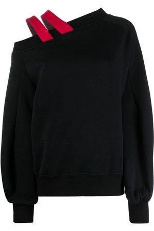 Atu Body Couture Suéter con detalles de tiras