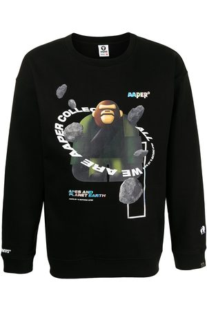 AAPE BY A BATHING APE Jersey con estampado gráfico