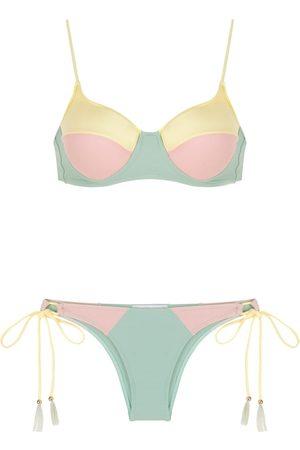 Brigitte Mujer Bikinis - Bikini tricolor