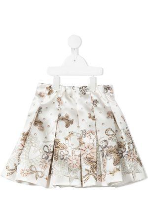 MONNALISA Niña Faldas - Falda con estampado de joyas