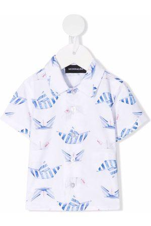 MONNALISA Camisa con estampado gráfico