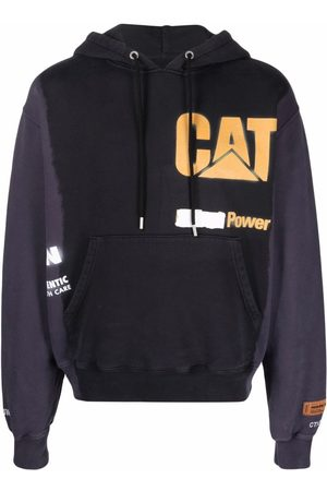 Heron Preston Hombre Con capucha - CAT HOODIE POWER BLACK YELLOW