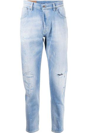 Dondup Jeans rectos con efecto envejecido