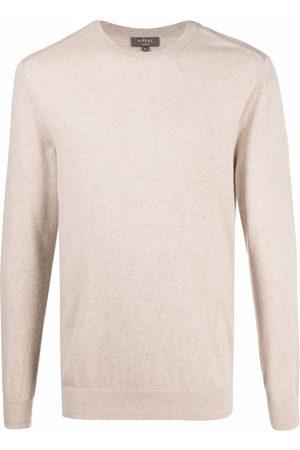 N.PEAL Hombre Suéteres - Suéter de cachemira con cuello redondo