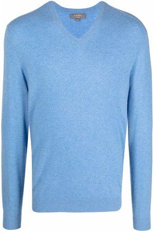 N.Peal Suéter de cachemira con cuello en V